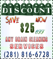 coupon drain cleaning